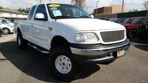 1999 Ford F-150 for sale at Platinum Auto Sales in Costa Mesa CA