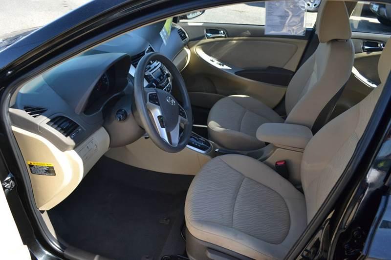 2013 Hyundai Accent for sale at Platinum Auto Sales in Costa Mesa CA