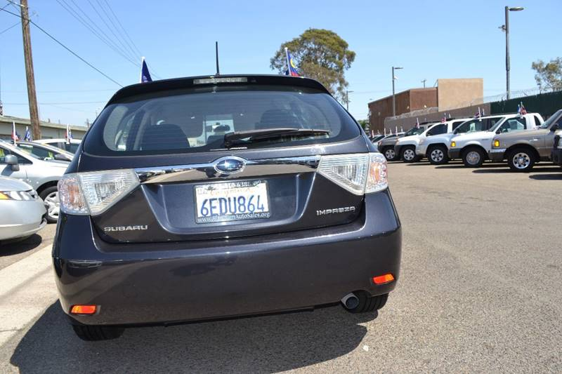 2008 Subaru Impreza for sale at Platinum Auto Sales in Costa Mesa CA