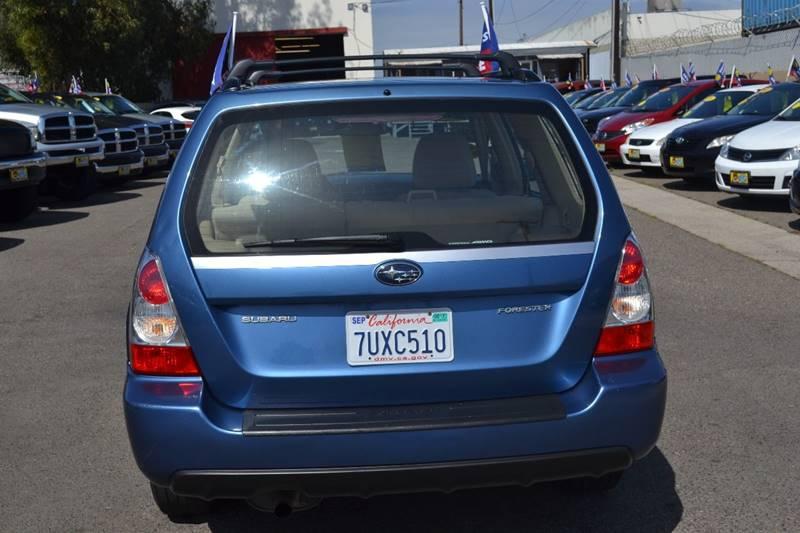 2007 Subaru Forester for sale at Platinum Auto Sales in Costa Mesa CA