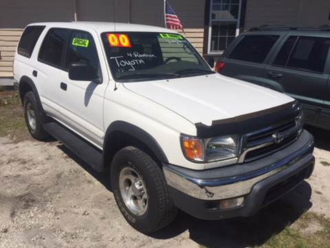 2000 Toyota 4Runner For Sale In Saint Augustine, FL