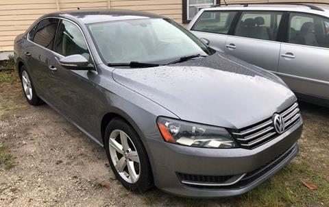 2012 Volkswagen Passat for sale in Saint Augustine, FL