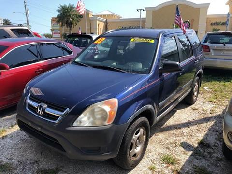 2002 Honda CR-V for sale in Saint Augustine, FL