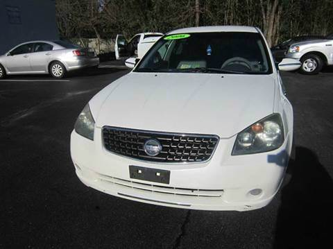 2006 Nissan Altima for sale at FIRST CLASS AUTO in Arlington VA