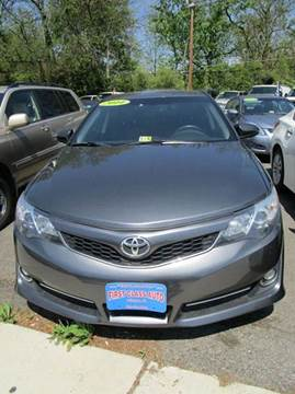 2014 Toyota Camry for sale at FIRST CLASS AUTO in Arlington VA