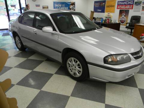 2002 Chevrolet Impala for sale at Lindenwood Auto Center in St. Louis MO