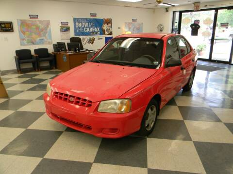 2002 Hyundai Accent for sale at Lindenwood Auto Center in St. Louis MO