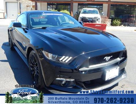 2017 Ford Mustang for sale in Silverthorne, CO