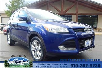 2015 Ford Escape for sale in Silverthorne, CO