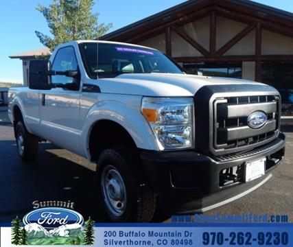 2015 Ford F-350 Super Duty for sale in Silverthorne CO