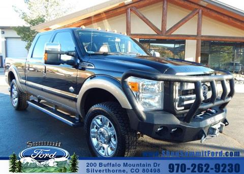 2013 Ford F-250 Super Duty for sale in Silverthorne, CO
