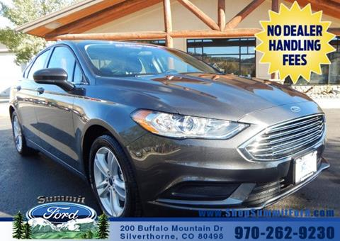 2018 Ford Fusion for sale in Silverthorne, CO