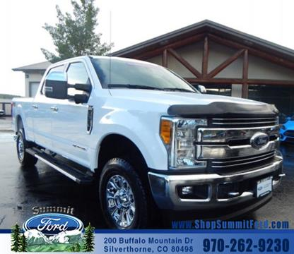 2017 Ford F-350 Super Duty for sale in Silverthorne CO