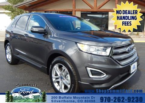 2017 Ford Edge for sale in Silverthorne, CO