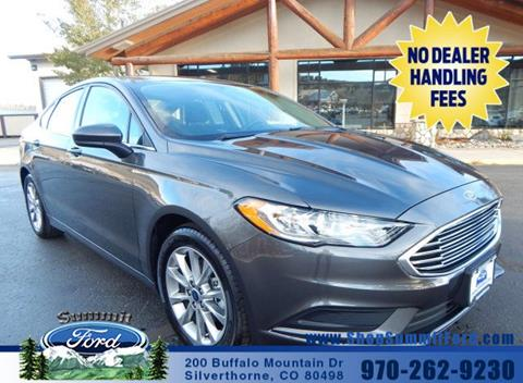 2017 Ford Fusion for sale in Silverthorne, CO
