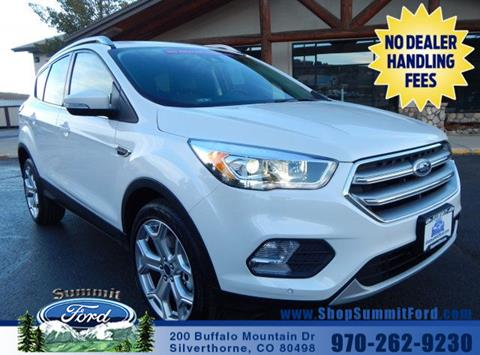 2017 Ford Escape for sale in Silverthorne CO