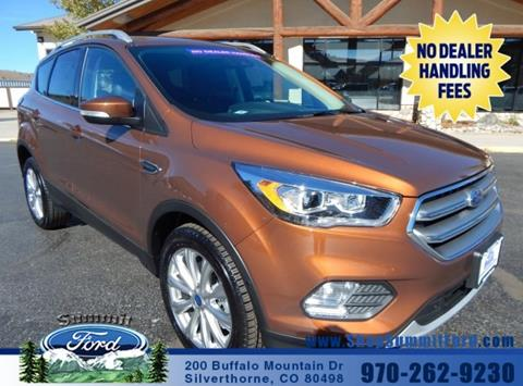 2017 Ford Escape for sale in Silverthorne, CO