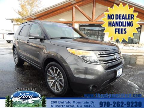 2015 Ford Explorer for sale in Silverthorne, CO