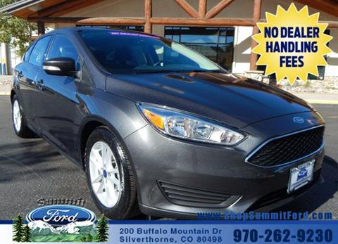 2016 Ford Focus for sale in Silverthorne CO