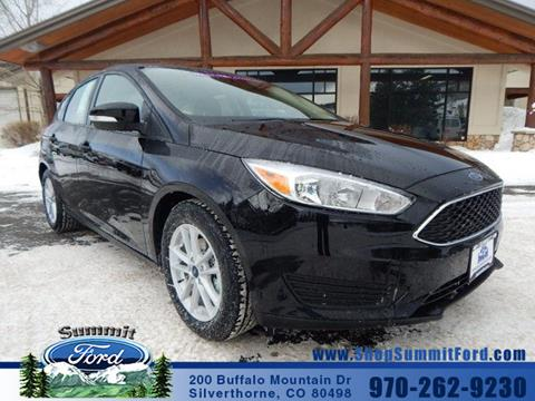 2017 Ford Focus for sale in Silverthorne CO
