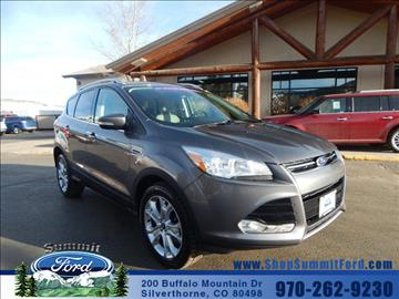 2014 Ford Escape for sale in Silverthorne, CO