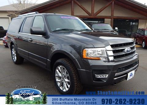 2017 Ford Expedition EL for sale in Silverthorne CO