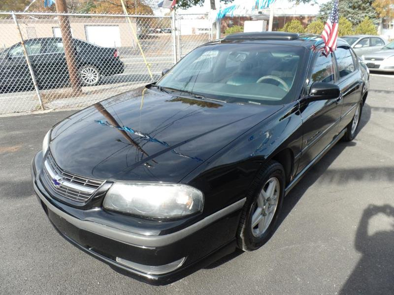 2003 Chevrolet Impala for sale at Jay Motor Group in Attleboro MA
