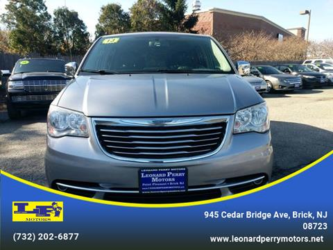 2013 Chrysler Town and Country for sale in Brick, NJ
