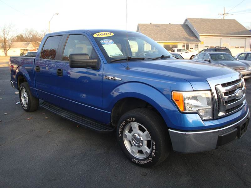 2009 Ford F-150 for sale at BISHOPS CORNER AUTO SALES in Sapulpa OK