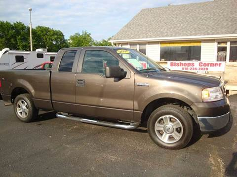 2007 Ford F-150 for sale at BISHOPS CORNER AUTO SALES in Sapulpa OK