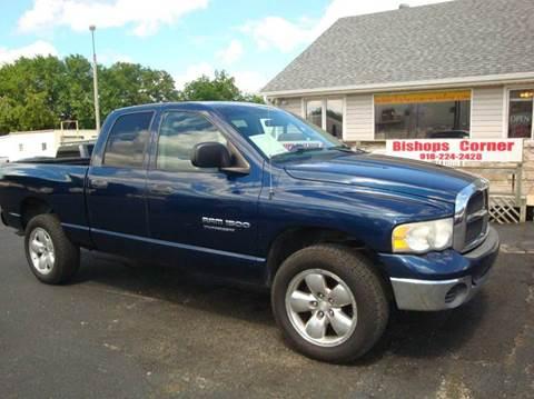 2005 Dodge Ram Pickup 1500 for sale at BISHOPS CORNER AUTO SALES in Sapulpa OK