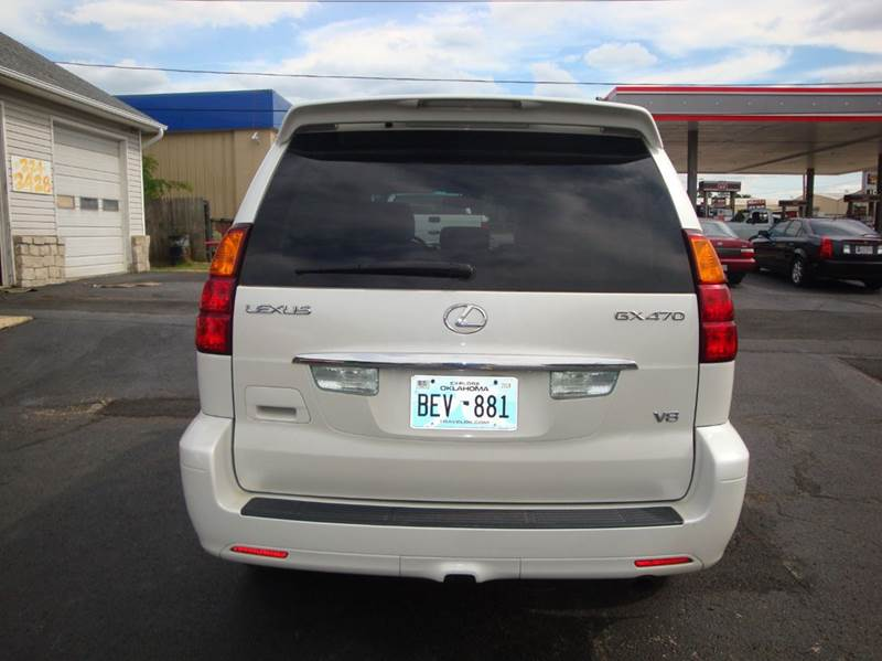 2004 Lexus GX 470 for sale at BISHOPS CORNER AUTO SALES in Sapulpa OK