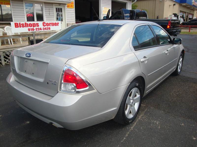 2007 Ford Fusion for sale at BISHOPS CORNER AUTO SALES in Sapulpa OK