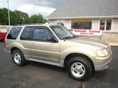 2001 Ford Explorer Sport for sale at BISHOPS CORNER AUTO SALES in Sapulpa OK