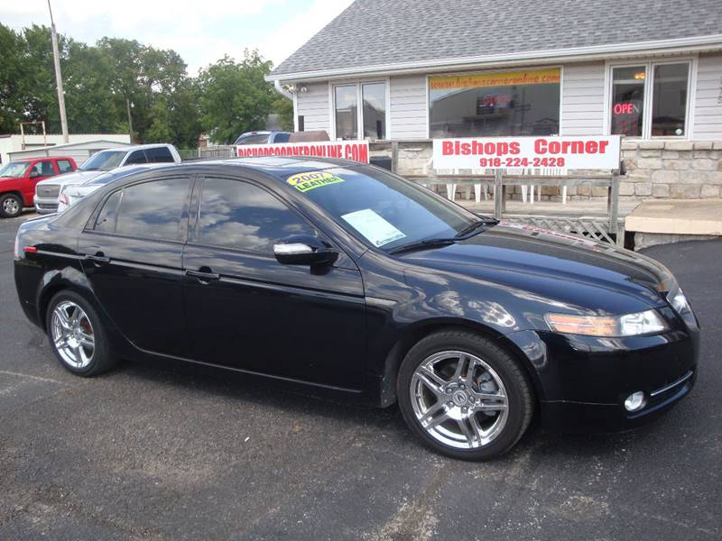 2007 Acura TL for sale at BISHOPS CORNER AUTO SALES in Sapulpa OK