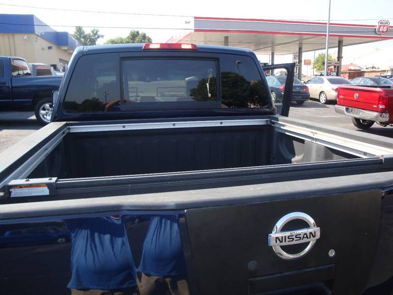 2007 Nissan Titan for sale at BISHOPS CORNER AUTO SALES in Sapulpa OK