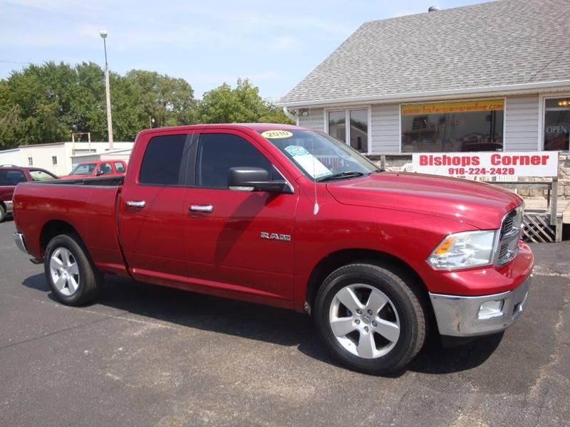 2010 Dodge Ram Pickup 1500 for sale at BISHOPS CORNER AUTO SALES in Sapulpa OK