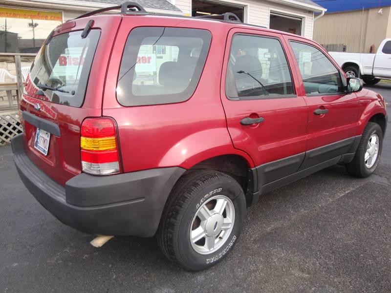 2004 Ford Escape for sale at BISHOPS CORNER AUTO SALES in Sapulpa OK