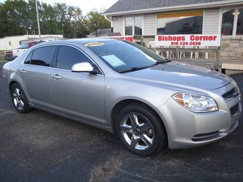 2008 Chevrolet Malibu for sale in Sapulpa, OK