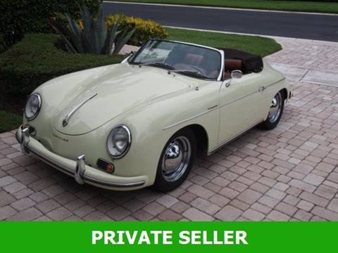Used Porsche 356 Speedster For Sale In Mexico Mo Carsforsalecom
