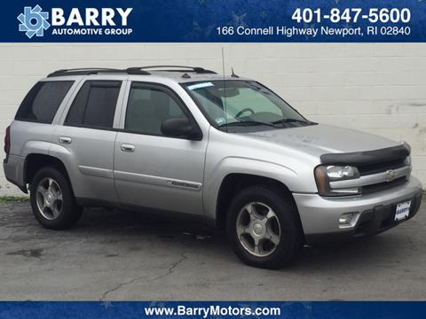 2004 Chevrolet TrailBlazer for sale in Newport, RI