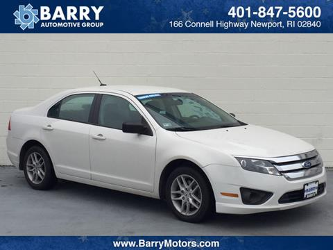 2012 Ford Fusion for sale in Newport RI