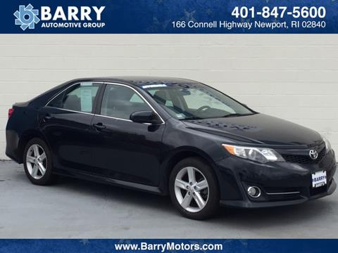 2012 Toyota Camry for sale in Newport, RI