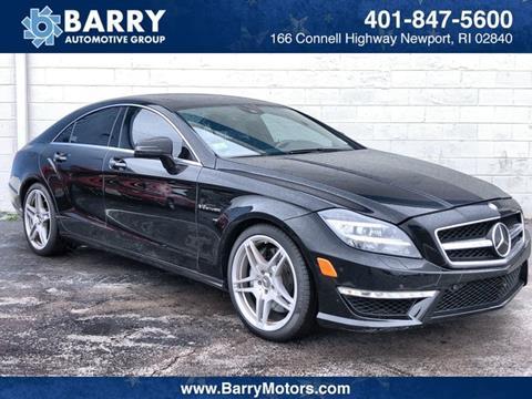 2012 Mercedes-Benz CLS for sale in Newport, RI