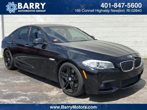 2013 BMW 5 Series for sale in Newport, RI