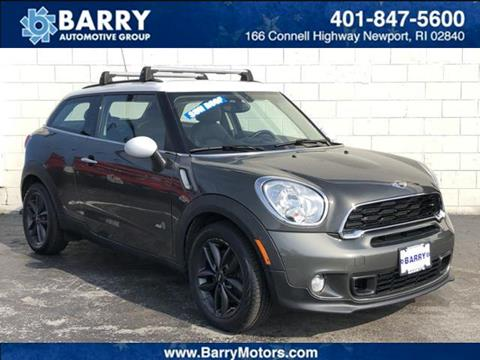 2014 MINI Paceman for sale in Newport, RI