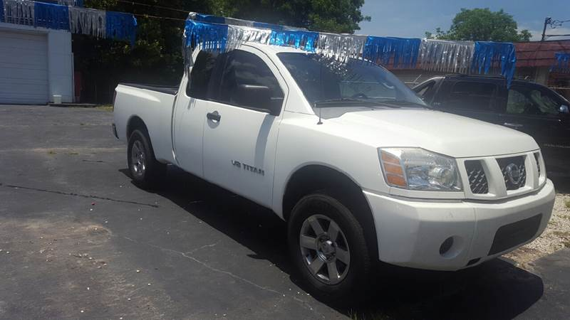 2007 Nissan Titan for sale at Bill Bailey's Affordable Auto Sales in Lake Charles LA