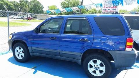 2005 Ford Escape for sale at Bill Bailey's Affordable Auto Sales in Lake Charles LA