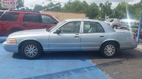 2004 Ford Crown Victoria for sale at Bill Bailey's Affordable Auto Sales in Lake Charles LA