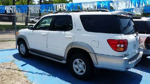 2002 Toyota Sequoia for sale at Bill Bailey's Affordable Auto Sales in Lake Charles LA